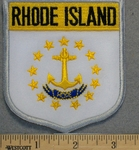 Rhode Island State Shield - EMbroidery Patch