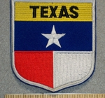 Texas State Shield - Embroidery Patch