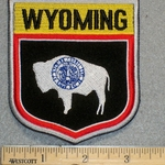 Wyoming - Embroidery Patch