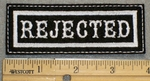 1329 L - Rejected - Embroidery Patch