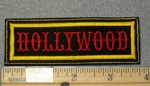 1791 L - Hollywood - Embroidery Patch