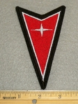 1321 L - Pontiac Arrow Logo Sign 4 In Height - Embroidery Patch