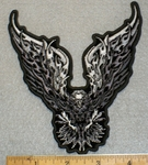 1407 G - Eagle with Spread Wings - Embroidery Patch