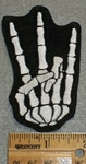 1767 L - Mini Shocker Skeleton - Left Hand - Embroidery Patch