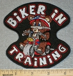 1779 G - Biker In Training - Embroidery Patch