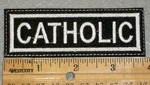 1399 L - Catholic - Embroidery Patch