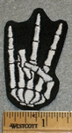 1766 L - Shocker Skeleton - Right Hand - Embroidery Patch