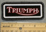 1368 L - Triumph - Embroidery Patch