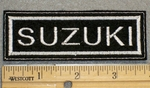 1359 L - Suzuki - Embroidery Patch