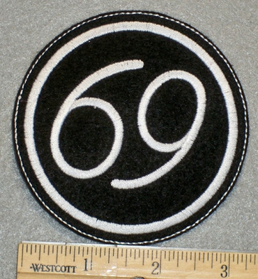 1309 L - 69- Embroidery Patch