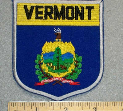 Vermont - Embroidery Patch
