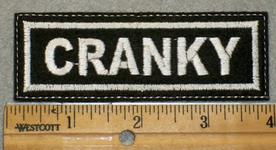 1911 L - Cranky - Embroidery Patch