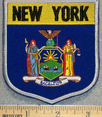 New York State Shield - Embroidery Patch