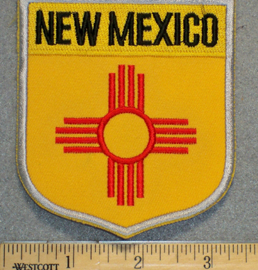 New Mexico State Shield - Embroidery Patch