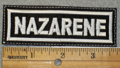 1466 L - Nazarene - Embroidery Patch