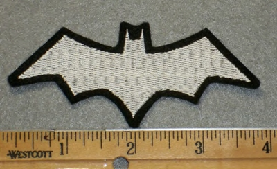 1931 L - Batman Symbol -Embroidery Patch