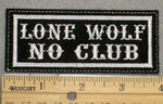 "3.75"" x 1.5"" Two Line Custom Patch"