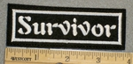 1357 L - Survivor - Embroidery Patch
