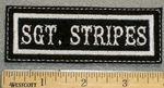 1342 L - Sgt. Stripes - Embroidery Patch