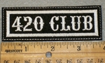 1395 L - 420 Club - Embroidery Patch