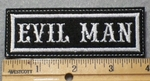 1410 L - Evil Man - Embroidery Patch