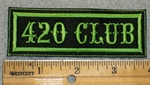 1751 L - 420 Club - Embroidery Patch