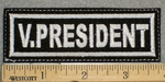 1377 L - V.President - Embroidery Patch