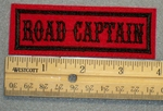 1335 L - Road Captain - Embroidery Patch