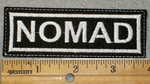 1467 L - Nomad - Embroidery Patch
