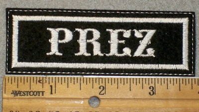 1470 L - Prez - Embroidery Patch