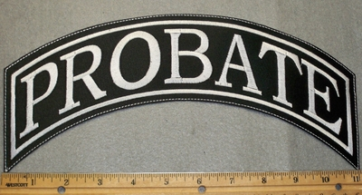 1770 L - Probate - Top Rocker - Embroidery Patch