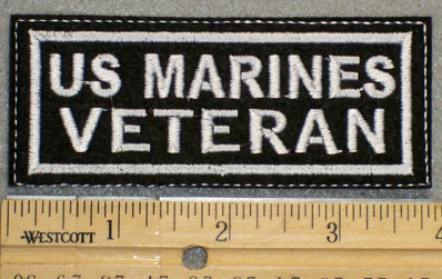 1373  L - US Marines Veteran - Embroidery Patch