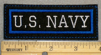 1376 L - US Navy - Embroidery Patch