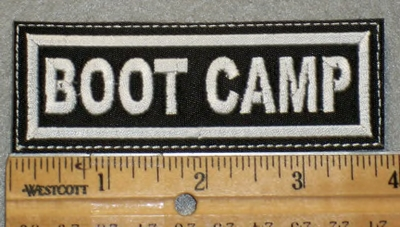 1908 L - Boot Camp - Embroidery Patch