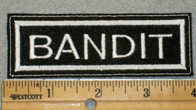1922 L - Bandit - Embroidery Patch