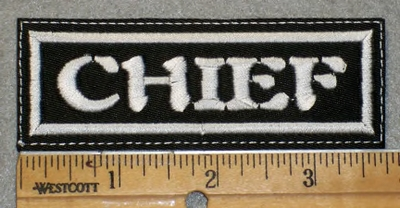 1913 L - Chief - Embroidery patch