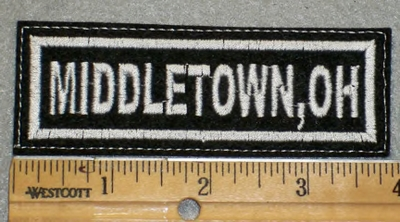 1956 L - Middletown, Oh - Embroidery Patch