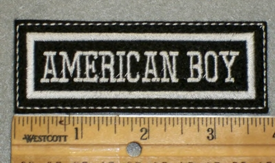 1992 L - American Boy - Embroidery Patch