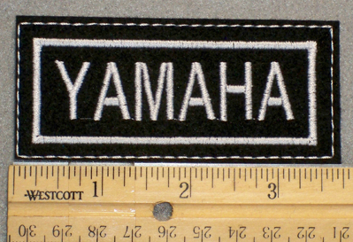 1390 L - Yamaha - Embroidery Patch
