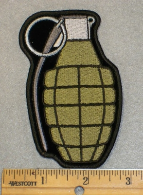 2015 G - Hand Grenade - Embroidery Patch