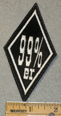 1438 L - 99% er - Diamond Shape - Embroidery Patch