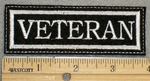 1379 L - Veteran - Embroidery Patch