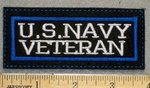 1375 L - US Navy Veteran - Embroidery Patch