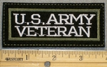 1371 L - US Army Veteran - Embroidery Patch