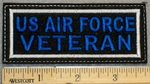 1369 L - US Air Force Veteran - Embroidery Patch