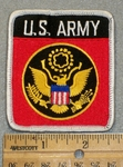 1435 W - US Army  Seal - Embroidery Patch