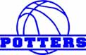 POTTERS BASKETBALL sticker