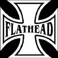FLATHEAD Iron Cross Sticker