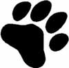 Dog Paw sticker