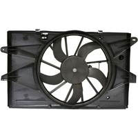 2008 2009 FORD TAURUS/TAURUS X, 2008 2009 MERCURY SABLE, AND 2009 LINCOLN MKS RADIATOR & CONDENSER COOLING FAN ASSEMBLY (8G1Z-8C607-A) - 621890